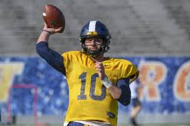 With West Virginia Austin Kendall Creates His Opportunity