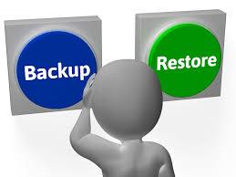 Image result for Backup & Restore Data