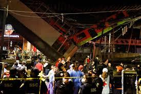 Sobe para 23 o número de mortos no acidente do metro da Cidade do México -  Record TV Europa
