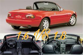 1.6 VS 1.8 NA Miata Pros/Cons Comparison - Mazda Miata MX-5 - TopMiata