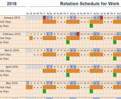 excel rotating schedule excel rotating schedule template aboutplanning org