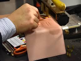 royce leather monogramming