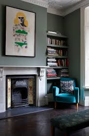 fireplace paint ideasPretty fireplace surround kits in Living Room Victorian with