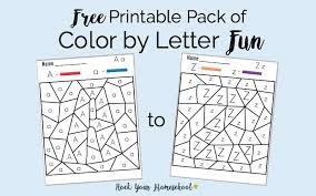 World famous alphabet color in pictures of times new roman letters, and numbers for your projects, posters, walls, bulletin boards, and telephone poles!. Free Printable Pack Of Color By Letter Fun Rock Your Homeschool