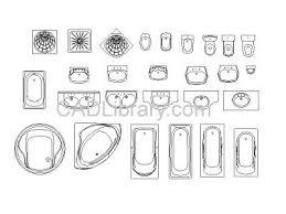 bath cad bathroom design. bathroom assorted - 2d cad symbols library autocad drawings | pinterest cad symbol, and autocad bath design