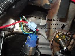 toyota tundra 2002 r and p carriages seneca illinois 12 ga wire through and sealed silicone the placed a 20 amp circuit breaker in a empty spot the power feed was connected to the main power stud