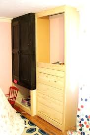 armoires build an armoire wardrobe how to build a built in closet built closet doll
