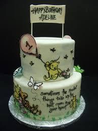 Classic Winnie The Pooh Cake Designs Classic Winnie The Pooh Birthday Cake Hand Painted Classic