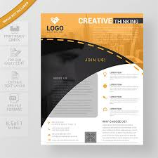 Templates For Brochures Free Download Professional Flyer Templates Free Download Wisxi Com
