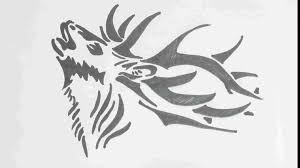 Tribal Tattoo Youtube Rhforkidscom Face Deer Pencil Drawing Step By