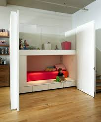 compact design solution loft bed in the nursery 100 cool bunk beds for children wall built into wall r96 cool
