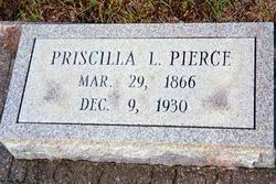 Priscilla Lanier Pierce (1866-1930) - Find A Grave Memorial
