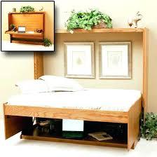diy murphy bed with desk octeesco