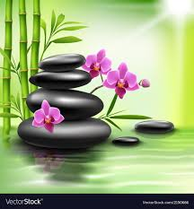 Spa Background Design Realistic Spa Background