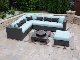 image of outdoor patio furniture sectional sets