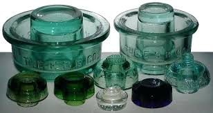 old glass insulators group of battery rest insulators glass insulators history old glass insulators