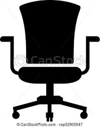 office chairs clipart. Modren Chairs Office Chair Or Task  Csp52905547 Throughout Chairs Clipart E