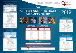 All Ireland Football Championship Wallplanner Oneill