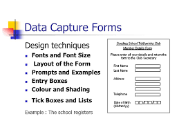 Data Entry Examples Data Capture Input Methods And Output Methods Ppt Download