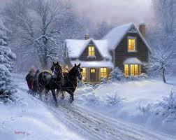 Resultado de imagen de escenas de navidad dibujos