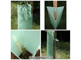 corrugated plastic plant guard tree sapling guard tree protector