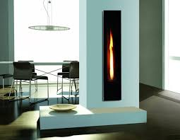 mirror flame tall gas fire with stunning flame