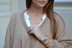 Maya Brenner Designs Love Bracelet In White Maya Brenner Gold V Necklace 14k Yellow Gold Letter