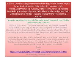 matlab assignment help matlab homework help ma   university assignments homework help online matlab projects university assignments help university homework he