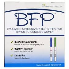 Fairhaven Health, <b>BFP</b>, <b>Ovulation & Pregnancy</b> Test Strips For ...
