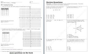 stunning graphs and functions worksheets contemporary worksheet