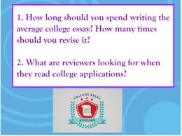 College Essay Writing Workshop The College Essay Writing Workshop