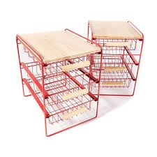 origami 3 drawer countertop organizer 2 pack