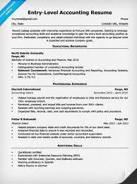 Accounting Resume Skills Musiccityspiritsandcocktail Com