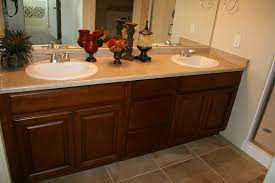 2 sink vanity with ready to assemble bathroom cabinets