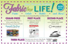 Fabric for Life | Keepsake Quilting & Fabric for Life Adamdwight.com