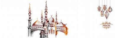 muslim wedding psd al template and