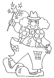 carnival coloring sheets for preschoolers circus themed pages new home sketch page of