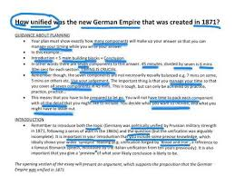 y essay about german unification  y12 essay about german unification 1871