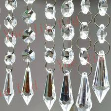 chandeliers crystal strands for chandelier chains chandeliers 6 acrylic garland hanging bead free shi