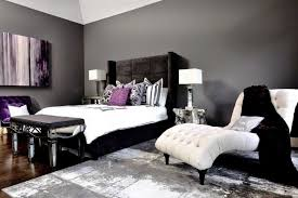 White room black furniture Black Aesthetic The White Furniture In This Room Creates Striking Contrast To The Black Grey Home Stratosphere 28 Beautiful Bedrooms With White Furniture pictures