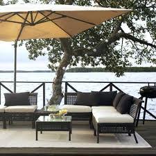 ikea uk garden furniture.  Furniture Ikea Garden Furniture Kungsholmen Outdoor Lounge Set Of Rattan And Hallo  Upholstery In White Black Pillows   Intended Ikea Uk Garden Furniture E
