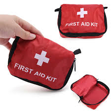 details about camping emergency bandage medical survival case first aid kit pack bag ch