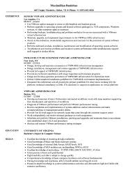 Vmware Resume Examples Vmware Administrator Resume Samples Velvet Jobs 6