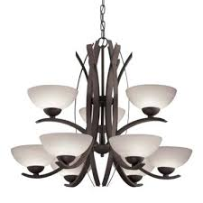 impressive 9 light bronze chandelier throughout and chandelier allen roth mediterranean candle chandelier
