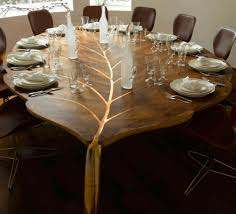 cool dining room table. Exellent Room Unique Coolest Dining Room Tables In A Leaf Shape Inside Cool Table L