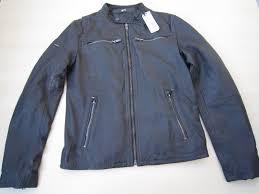 superdry biker jackets classic real hero biker leather jacket medium grey rrp brand new mens grey superdry shoes new york superdry t shirts myntra fabulous