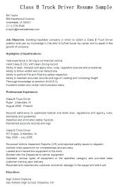 Cdl Truck Driver Resume Llun Inspiration Resume For Cdl Driver