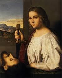 judith 1520 1525 fondazione querini szampalia venice italy painting oil on panel