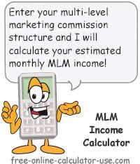 Mlm Income Calculator With Built In Matrix Auto Fill Feature