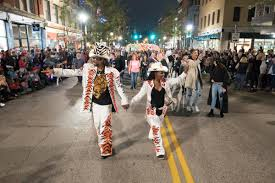 Cincinnati Light Show October 2017 Blink Parade Has New Route Grand Marshal Wvxu